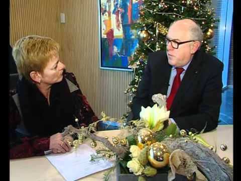 Gesprek met burgemeester Boxmeer over het nieuwe jaar