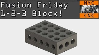 How To Model a 1-2-3 Block in Fusion 360! FF2