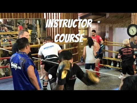 Muay Thai Instructor course at Master Toddy's - YouTube