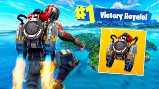 ESCAPE THE MAP WITH THE NEW JETPACK! - Fortnite