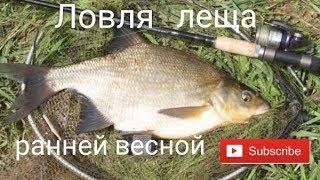 Рыбалка на фидер весной лещ 2020