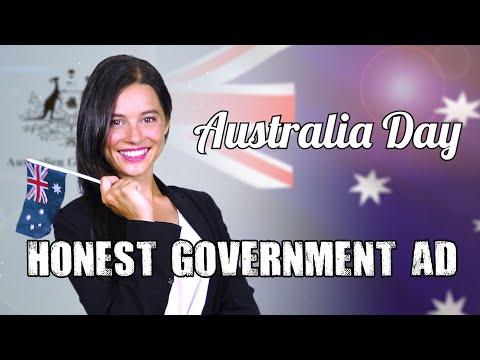 Honest Government Ad   Australia Day