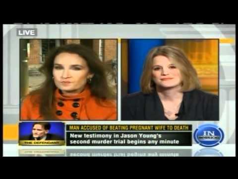 Meg Strickler on TruTV discussing NC v.#JasonYoung