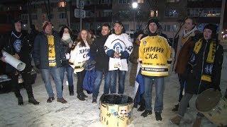 Хоккейный матч в Новополоцке!!!