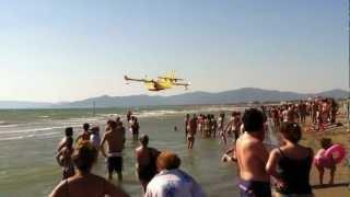 preview picture of video 'Incendio Pineta Marina di Grosseto 2012'