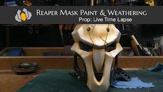 Prop: Shop - Reaper Mask Paint & Weathering Time Lapse