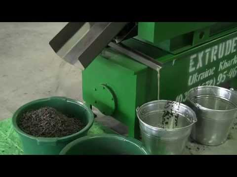 Экструдер для получения масла из масличных культур