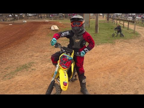 Kids dirt bike race day part 2. How will this turn out?!