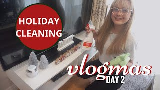 ULTIMATE CLEANING MOTIVATION | HOLIDAY CLEANING | VLOGMAS DAY 2