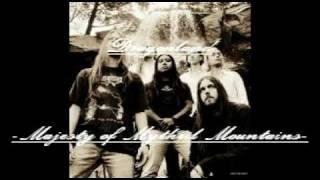 Dragonland Majesty of Mythril mountains with lyrics