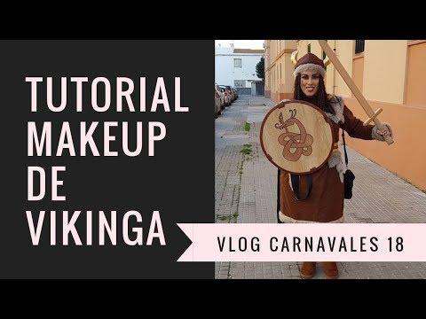TUTORIAL MAQUILLAJE DE VIKINGA + VLOG CARNAVAL | CRISTINA SLIM