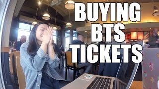 BUYING BTS WINGS TOUR TICKETS!!!