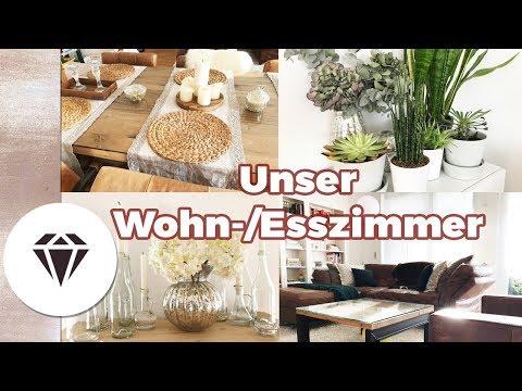 Unser WOHN-ESS-ZIMMER I Einrichtung, Deko, Inspiration I Interiordesign by Nela Lee