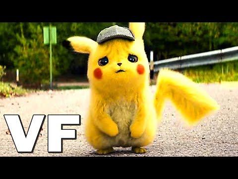 DÉTECTIVE PIKACHU Bande Annonce VF # 2 (2019) NOUVELLE, Film Pokémon