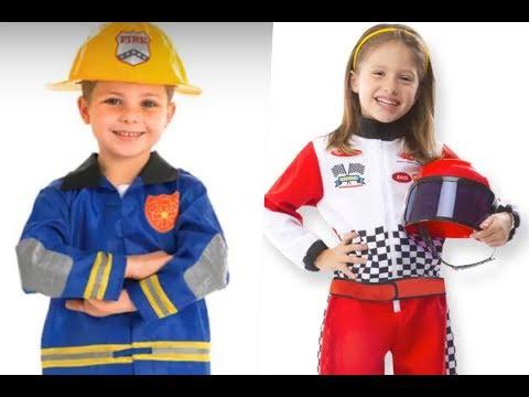 Disfraces de oficios caseros para niños