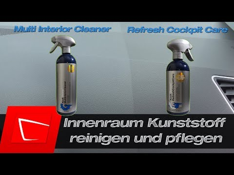 Kunststoff im Innenraum reinigen/pflegen - Koch Chemie Refresh Cockpit Care - Multi Interior Cleaner