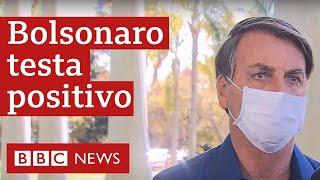 """Presidente afirmou que sentiu primeiros sintomas no domingo e chegou a ter 38 graus de febre na segunda-feira. """"Estou perfeitamente bem"""".   Leia mais: https://www.bbc.com/portuguese/brasil-53326691   Curtiu? Inscreva-se no canal da BBC News Brasil! E se quiser ler mais notícias, clique aqui:  www.bbc.co.uk/portuguese"""