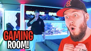 MONTES 200.000€ GAMING ROOM! | Reaction