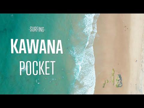 HD footage from above at Kawana