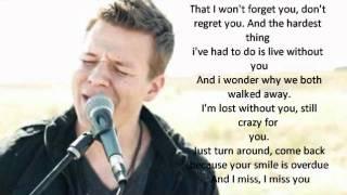 """Tyler Ward """"The Hardest Thing"""" Lyrics"""