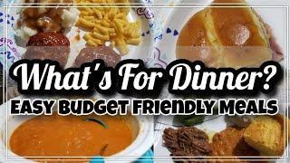 What's For Dinner? | Easy Budget Friendly Meal | Family Meals
