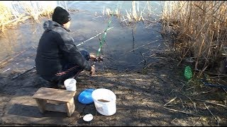 Куда ехать на рыбалку в марте