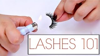 False Lashes Tips And Tricks For Beginners! | The how to guide for Lashes