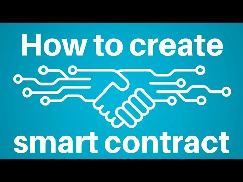 How to create smart contract