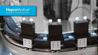 레이저 마킹 립스틱 튜브 / Beckhoff XTS용 GFX 가이드 시스템