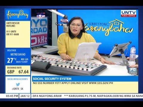 Serbisyong Kasangbahay (January 12, 2018)