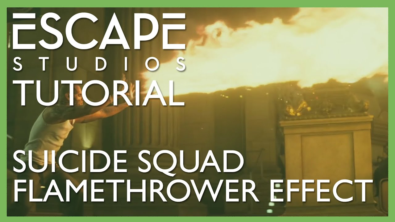 Learn how to work with fluids in Maya to create a flamethrower effect similar to that utilised by El Diablo in Suicide Squad