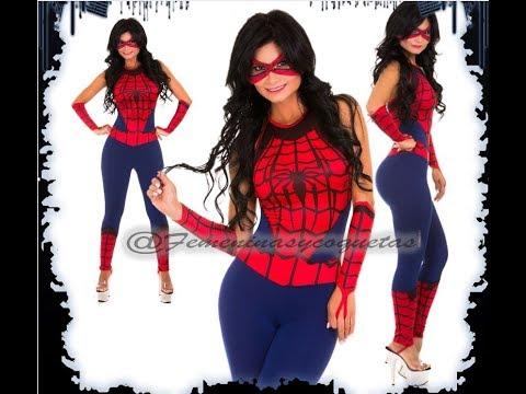 Disfraz de mujer araña - Spider Girl