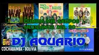 Cumbia Mix  Grupos Mexicanos De Los 90