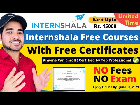 Internshala Free Courses With Free Certificate | Classes by Top Professionals | #FreeOnlineCourse