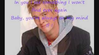 Aaron Carter - Girl You shine with lyrics