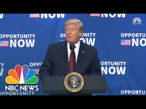 Watch Live: Trump Holds Economic Event With State, Local Leaders | NBC News