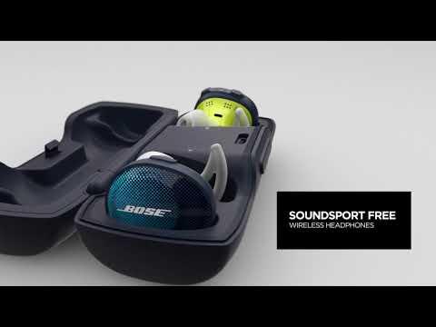 Bose SoundSport Free Bluetooth Wireless Earbuds - Midnight Black