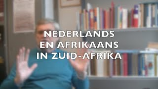 Nederlands En Afrikaans In Zuid Afrika