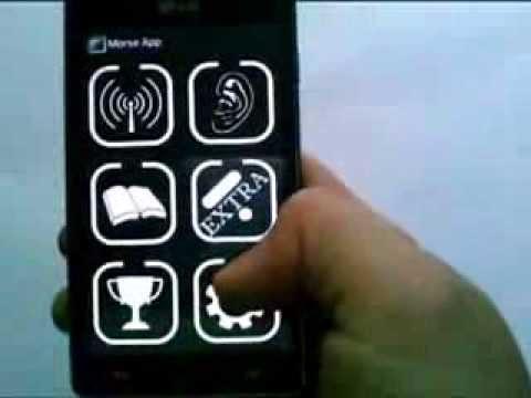 Видео Morse App (Изучи азбуку Морзе)