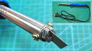 How to make hot knife cutter  Acrylic, Plexiglass, Plastic, PVC and Foam Cutter