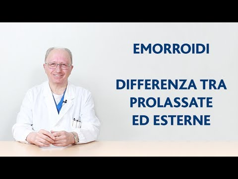 Emorroidi cauterization di video