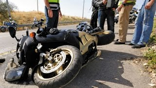 #2 18+ Аварии мотоциклистов август 2016, ХРУСТы поехали! Подборка жестоких ДТП HD