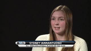 Sydney Iannantuono - All-Area Volleyball Player of the Year