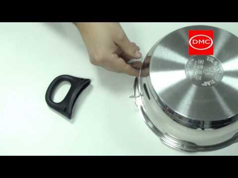 Colocación asa clip on o de anclaje automático