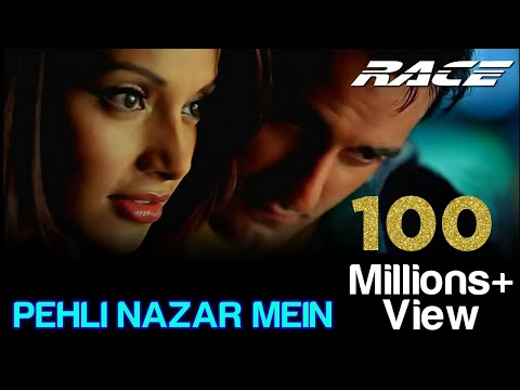 Download Pehli Nazar Mein - Full Video | Race I Akshaye , Bipasha & Saif Ali | Atif Aslam | Pritam | Tips HD Mp4 3GP Video and MP3