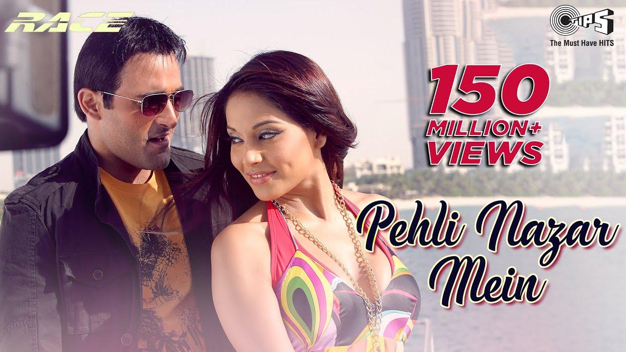 Pehli Nazar Mein - Full Video | Race I Akshaye , Bipasha & Saif Ali | Atif Aslam | Pritam | Tips| Atif Aslam Lyrics