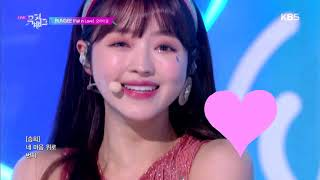BUNGEE (Fall In Love)   오마이걸(OH MY GIRL) [뮤직뱅크 Music Bank] 20190802