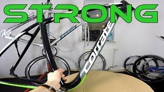 Corratec X-Vert 650B Mountain Bike Alloy Frame Review. Robust XC Frame