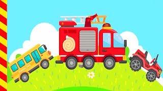 Пожарные машины тушат пожар мультик. Мультики о машинках. Пожарная машина для детей. Машинки Мультик