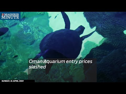 Oman Aquarium entry prices slashed